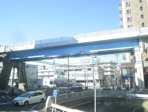 第1号線高架構造物及び上社第23橋梁改修工事