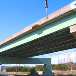 23号四日市高架橋近鉄跨線橋塗装工事
