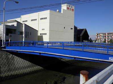 大高緑地歩道橋始め3橋塗装工事