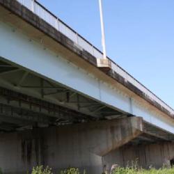 1号安楽大橋(上り)塗装工事
