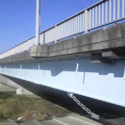 1号安楽大橋(下り)塗装工事