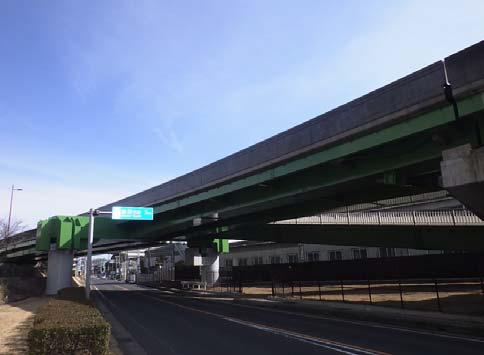新生三枝立体交差Aランプ高架橋橋梁補修工事