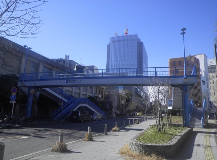 駿河町横断歩道橋修繕・塗装工事
