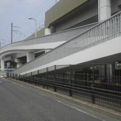 旭丘横断歩道橋塗装・修繕工事