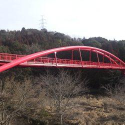 王滝湖かけ橋 橋りょう塗装等補修工事