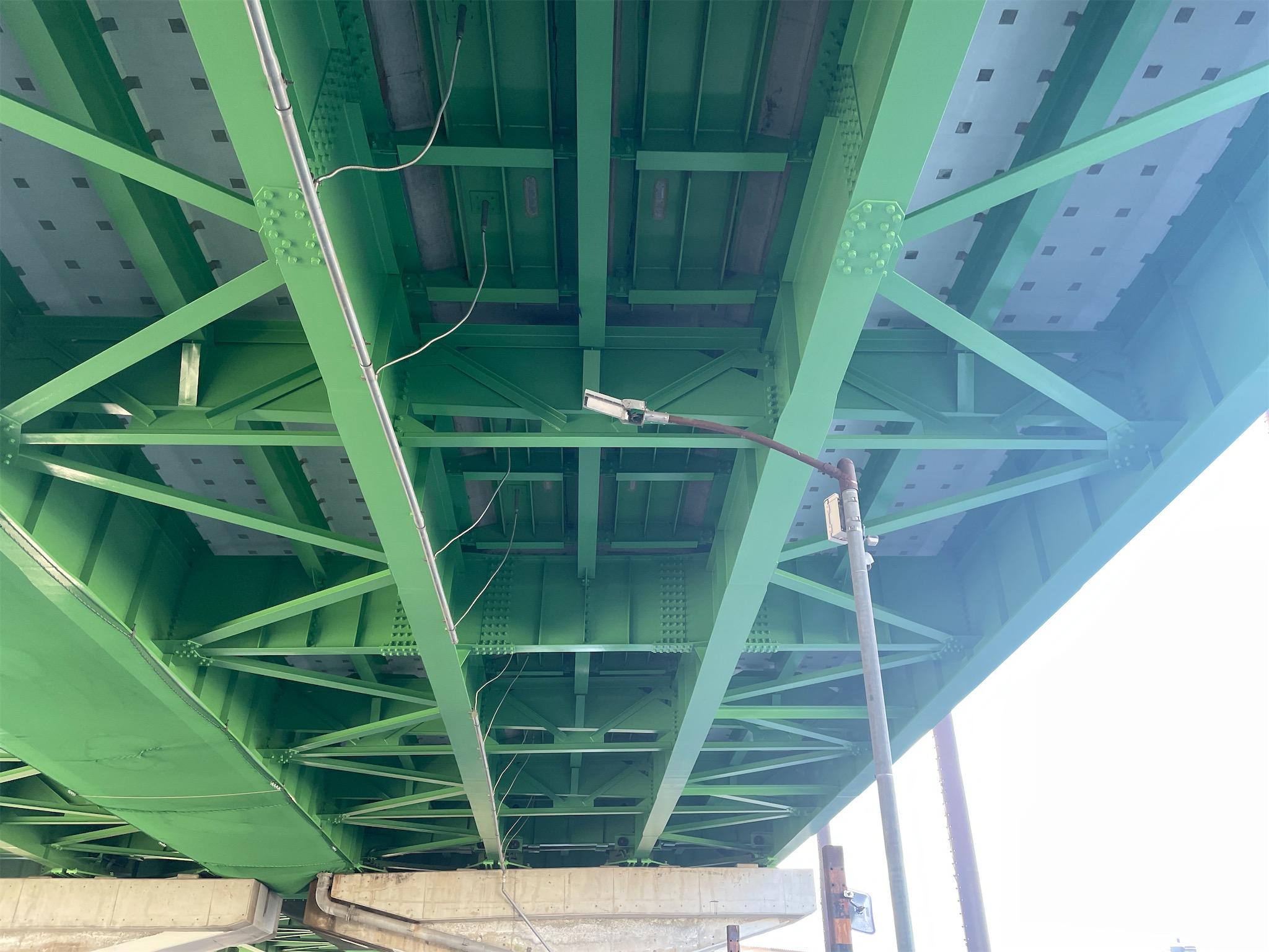 令和元年度23号道徳高架橋上り塗装修繕工事